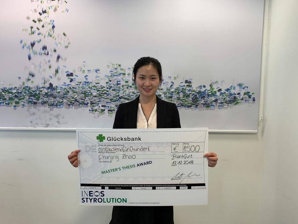 INEOS Styrolution Award | Polymer Engineering Bayreuth