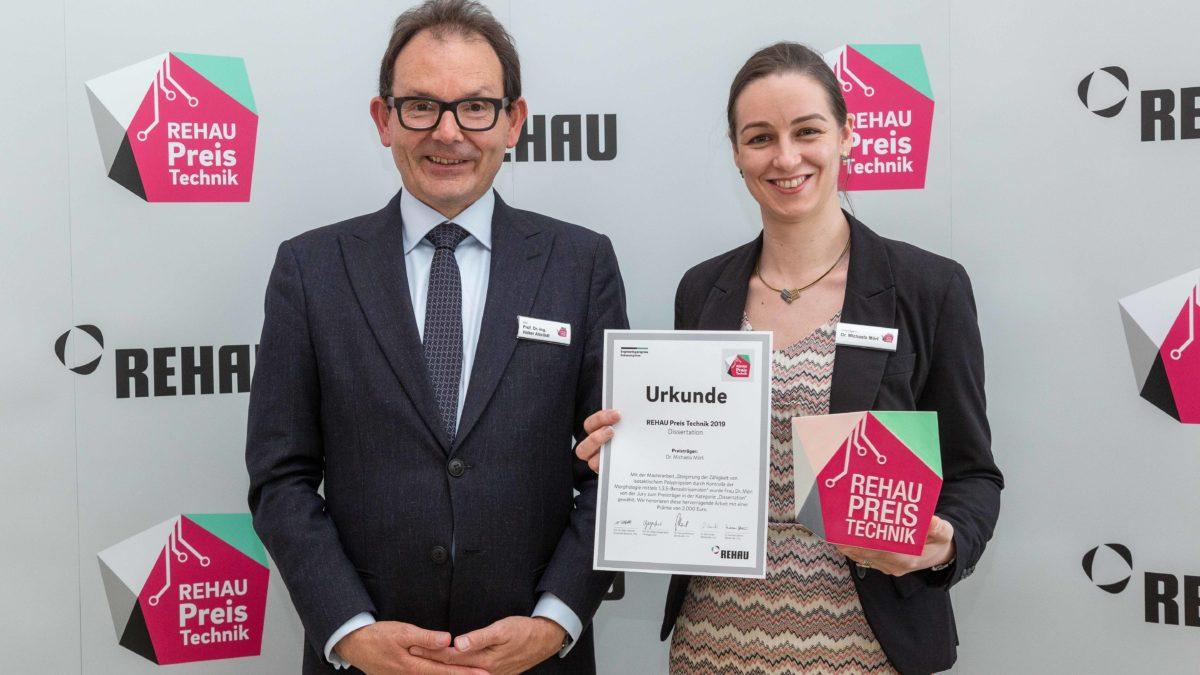 Preisverleihung REHAU Preis Technik 2019 | Polymer Engineering Bayreuth