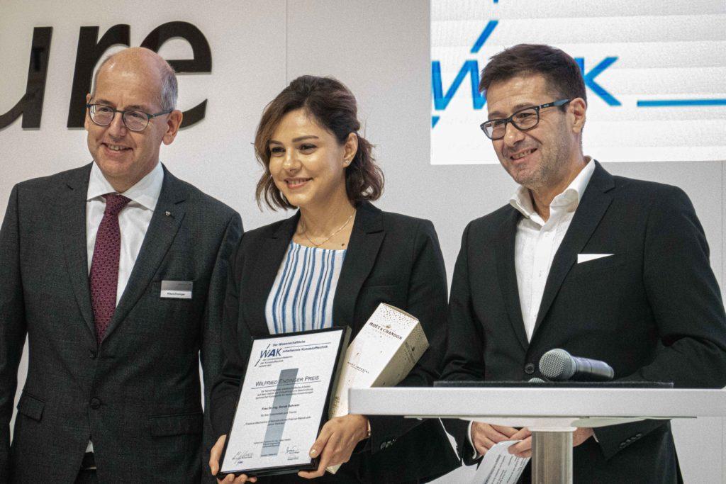 Preisverleihung WAK Wilfried-Ensinger-Preis 2019 | Polymer Engineering Bayreuth