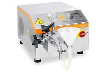 Hochdruckdispergator | GEA NIRO SOAVI PANDA 2K | Polymer Engineering Bayreuth