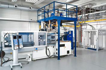 Spritzgieß-Compounder | Krauss Maffei IMC KM 200 | Polymer Engineering Bayreuth
