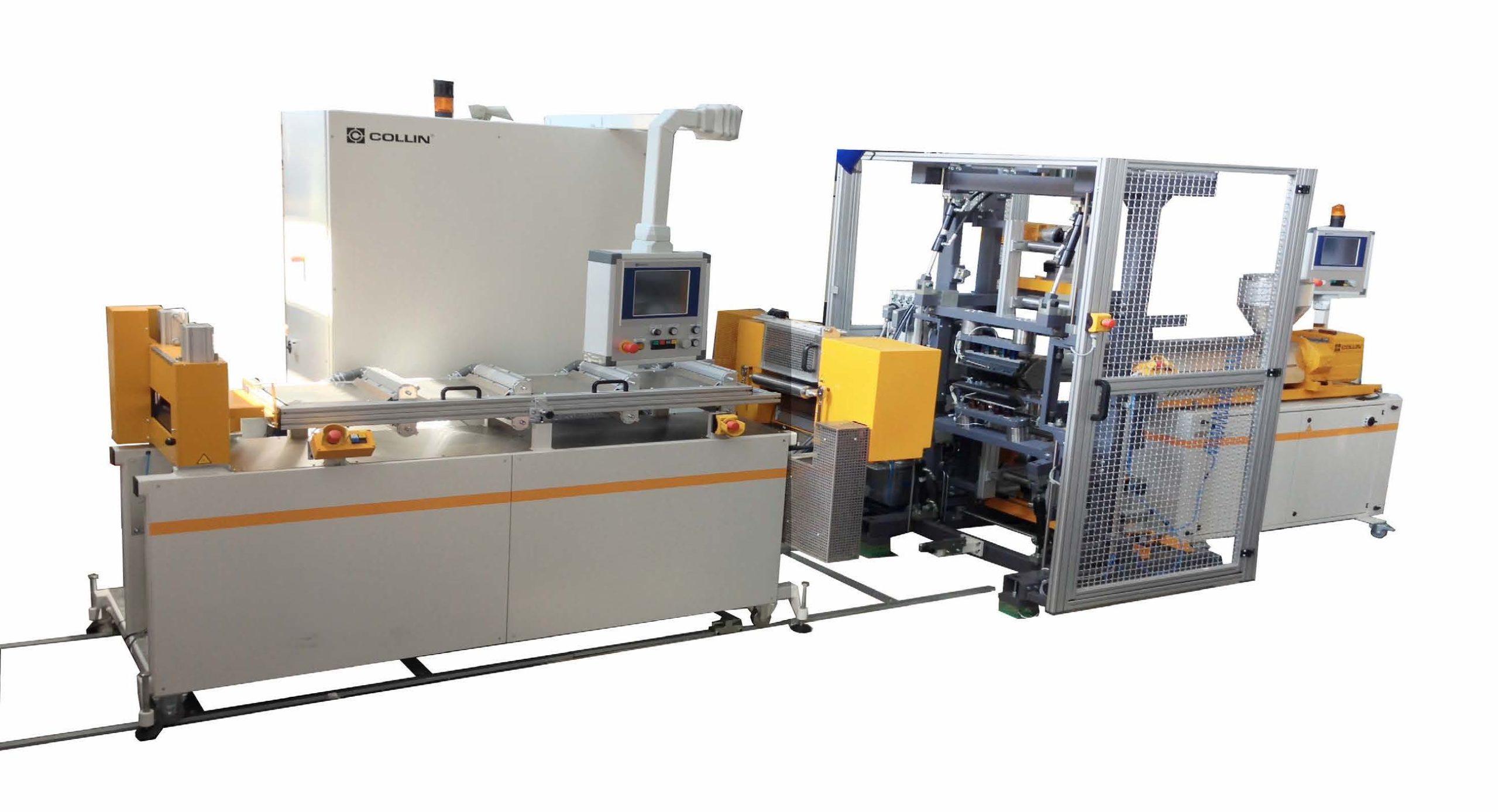 Lamipreg-Anlage | Polymer Engineering Bayreuth