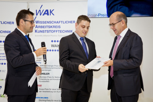 Preisverleihung Wilfried-Ensinger-Preis 2016 | Polymer Engineering Bayreuth