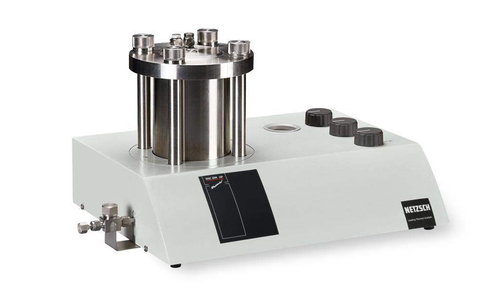 Hochdruck-DSC | NETZSCH 204 HP PHOENIX | Polymer Engineering Bayreuth