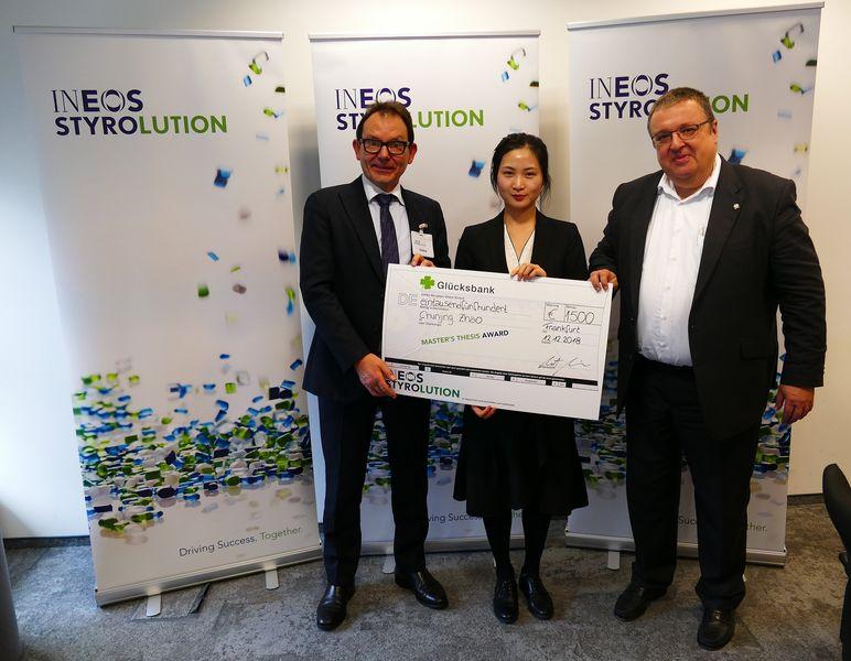 Preisverleihung INEOS Styrolution Award 2018 | Polymer Engineering Bayreuth