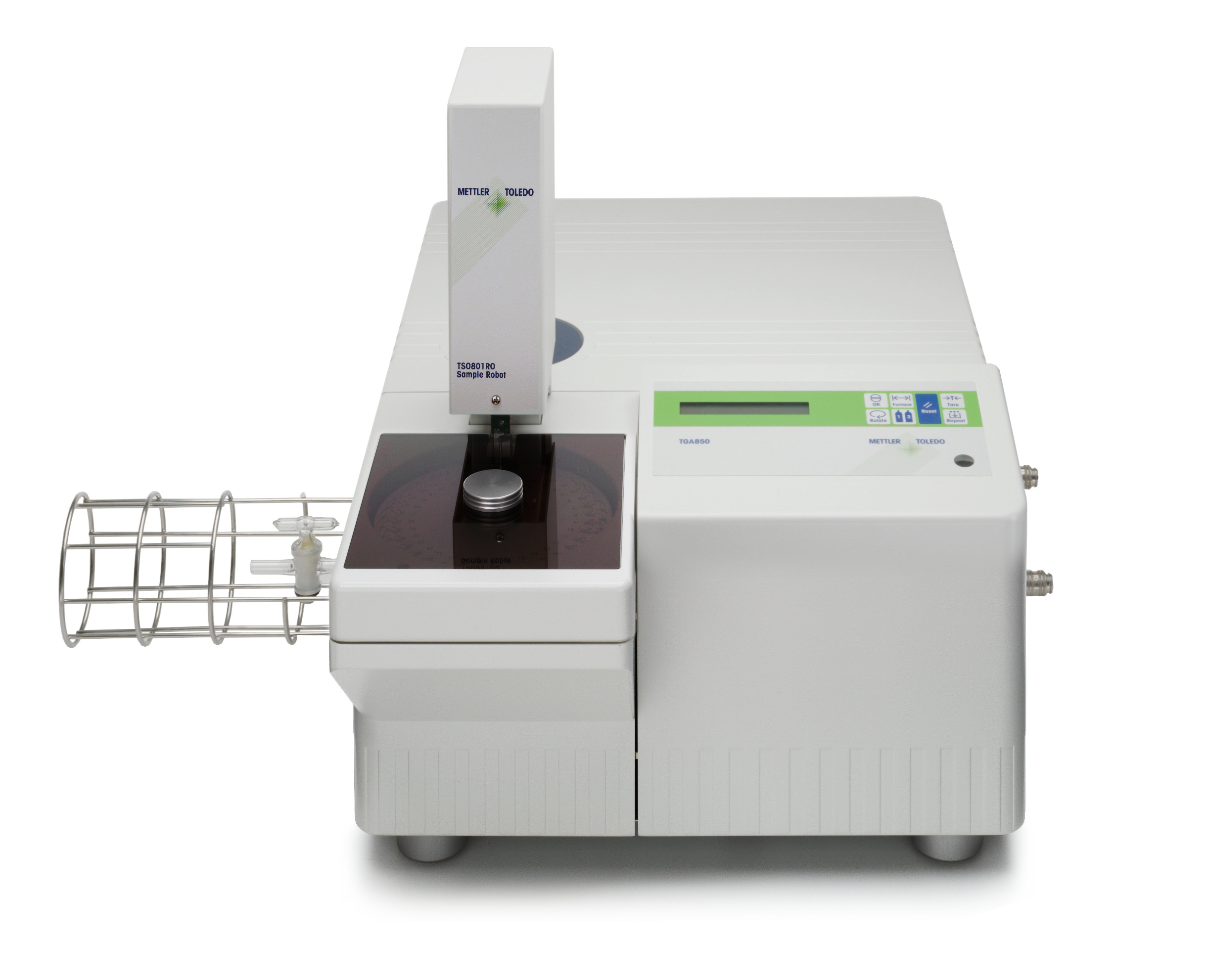 Thermo-gravimetrische Analyse | Mettler Toledo TGA/SDTA 851E | Polymer Engineering Bayreuth