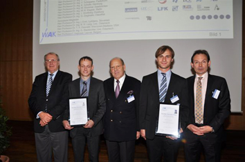 Preisverleihung WAK Wilfried-Ensinger-Preis 2011 |Polymer Engineering Bayreuth