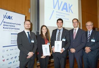 Preisverleihung WAK Wilfried-Ensinger-Preis 2015 | Polymer Engineering Bayreuth