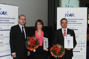 Preisverleihung WAK Wilfried-Ensinger-Preis 2012 | Polymer Engineering Bayreuth