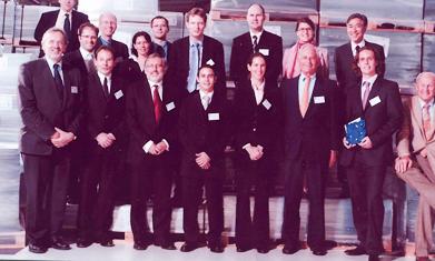 Preisverleihung Quadrant Award 2005 | Polymer Engineering Bayreuth