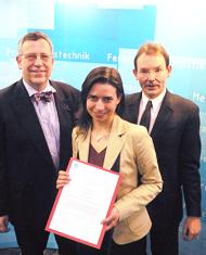Preisverleihung VDI-Preis 2005 |Polymer Engineering Bayreuth