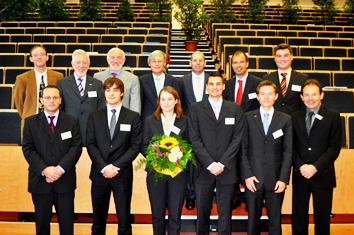 Preisverleihung Wilfried-Ensinger-Preis 2009 | Polymer Engineering Bayreuth